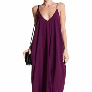 Lovestitch maxi dress with adjustable straps.